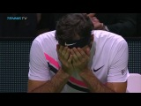 Roger Federer back at World No.1 winning moment and celebration!  Rotterdam 2018