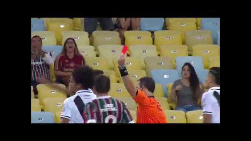 Wellington Silva Dribla todo mundo e o juiz - Fluminense x vasco semi final carioca 2017