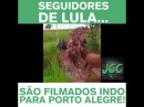 SEGUIDORES DE LULA INDO PARA PORTO ALEGRE