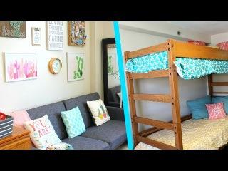 Megan and Ciera's College Dorm Tour