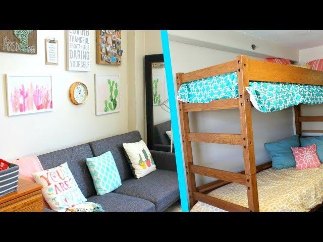 Megan and Cieras College Dorm Tour