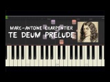 Marc-Antoine Charpentier - Te Deum Prelude - Piano Tutorial by Amadeus (Synthesia)