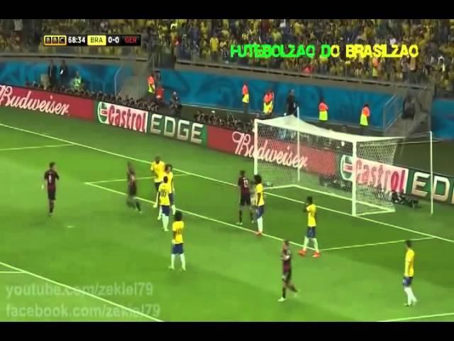 Brasil x Alemanha narrado pelo Galvão!