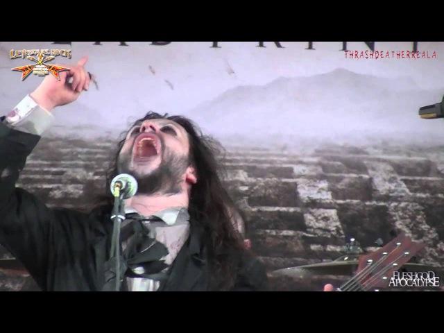 Fleshgod Apocalypse - The Forsaking (live Leyendas del Rock, 06-08-2015)