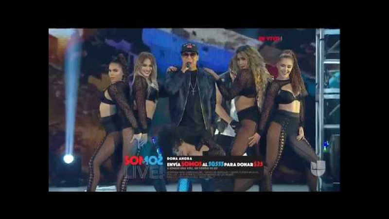 Daddy Yankee perform - Gasolina/Limbo/Despacito (Live At Somos Live) SOMOƧ LIVE
