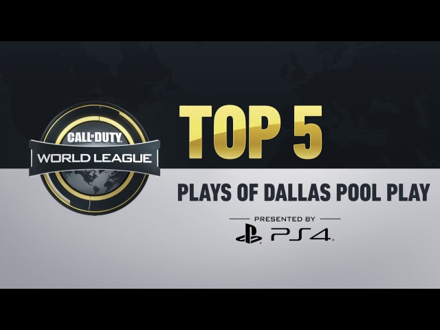 Top 5 Plays from CWL Dallas Pool Play Presented by PS4
