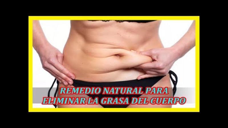 Elimina la grasa de tu cuerpo rápidamente con este poderoso jugo natural