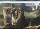 Откуда столько непрерывной воды с гор Водопады от Пули Снегопада