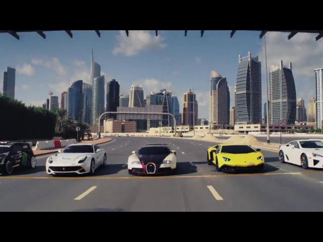Арабский дрифт в Дубае (le calin)