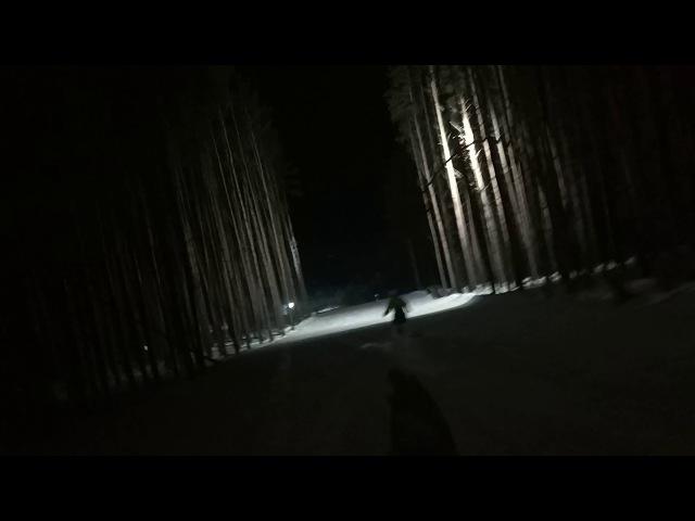 Сноуборд Погоня Федотово 18 02 18 Бешеные табуретки