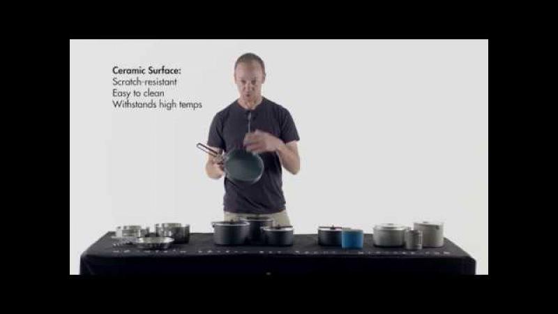 MSR Ceramic Nonstick Aluminum Cookware