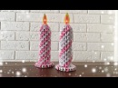 Easy Origami Candle Christmas Craft For Kids Priti Sharma