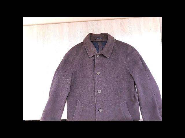 Перешиваем мужское демисезонное пальто в зимнее Часть 4