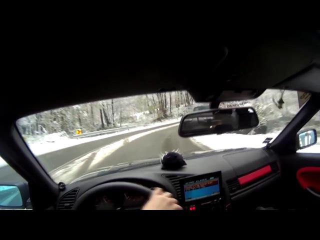 BMW E36 snow drift / БМВ е36 зимний дрифт