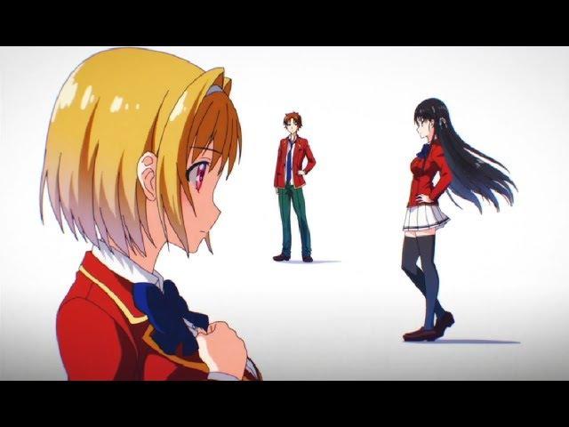 Youkoso Jitsuryoku Shijou Shugi no Kyoushitsu e OP/Opening HD「Caste Room」by ZAQ Subs CC