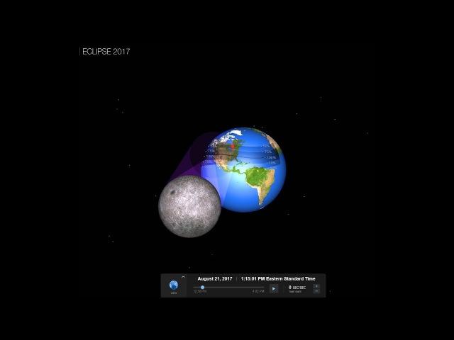 Солнечное затмение 21.08.17 - В погоне за тенью Луны. № 1