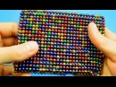 Playing with 1000 mini magnetic balls pt 2 ASMR with 1000 oddly satisfying buckyballs