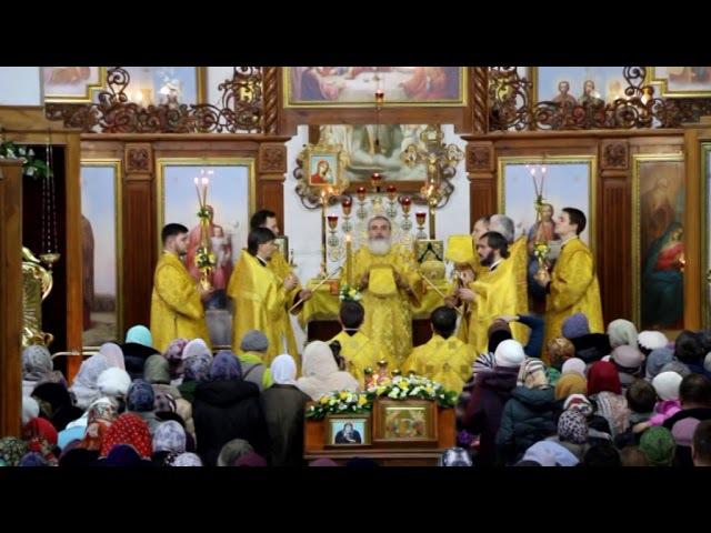 Божественная Литургия на подворье Александро-Свирского монастыря