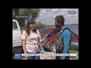 Житель Польши на каяке с Каспийского моря добрался до Новочебоксарска