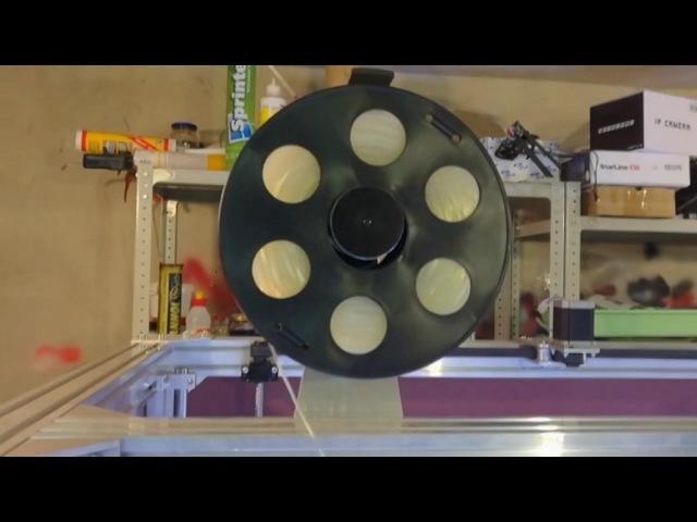 3Д принтер на базе станочного профиля RSI