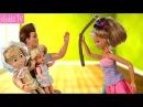 МАМА ВЗЯЛАСЬ ЗА РЕМЕНЬ Мама Барби Маша и Медведь Мультфильм BAD BABY Вредныедетки