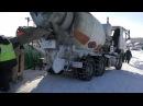 Зимнее бетонирование Противоморозная добавка для бетона Бетоноправ 6 Пример р