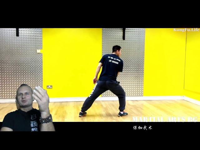 [BG] Передний шаг - Зен-куцу-дачи Гун-Бу