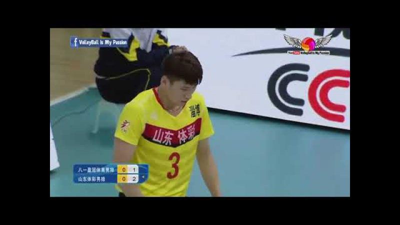 Bayi(八一) vs Shandong (山东) | 26-11-2017 | Chinese Men's volleyball super league 2017/2018