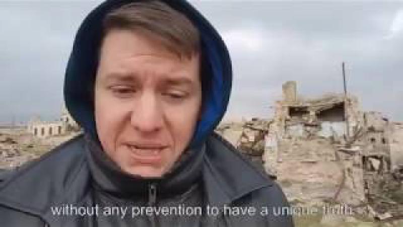 Pierre Le Corf : je suis fatigué et dégoûté des mensonges sur ce qui se passe en Syrie [ENG. Subs]