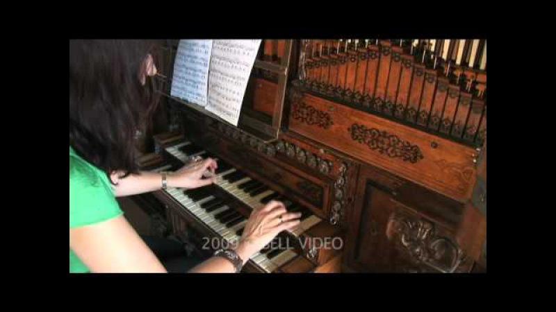 Dr. Carol Williams on the 1610 Compenius organ, Denmark