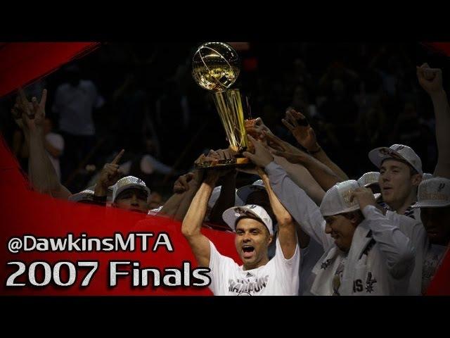 Tony Parker Full 2007 Finals Highlights vs Cavaliers Part1 - 24.5 PPG, Finals MVP!
