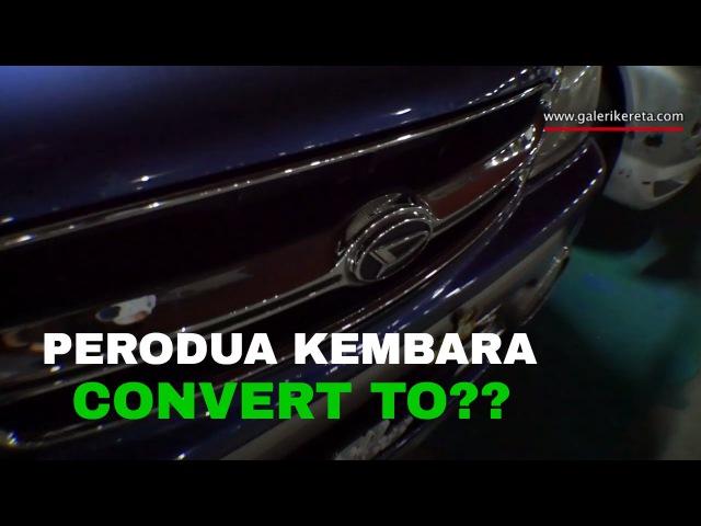 Modified Kembara convert Daihatsu Terios Toyota Cami   Perodua Nite Meet 2016   Closeup Video