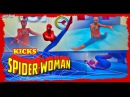 Amazing kicks by Spiderwoman 2018