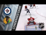 Winnipeg Jets vs Chicago Blackhawks January 12, 2018 HIGHLIGHTS HD