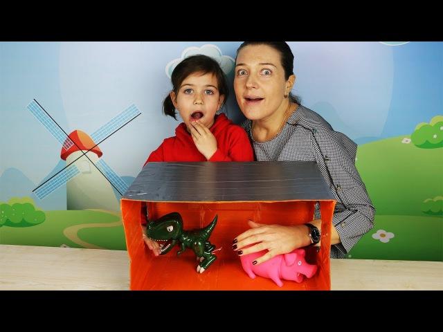 ? Игра Челлендж Эмилюша против Мамы/! WHATS IN THE BOX CHALLENGE!
