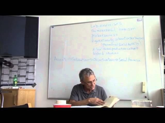 A Guide to Ethnomethodology's Program Chapter 8 9