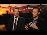 Benedict Cumberbatch &amp Tom Hiddleston - War Horse Press Junket #1