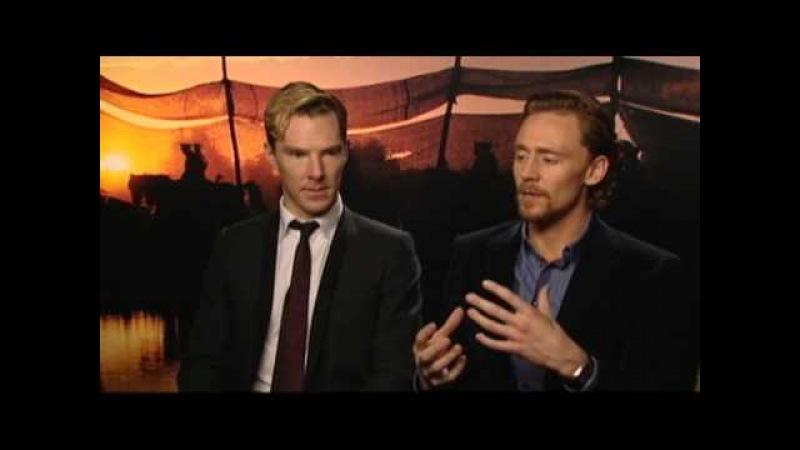 Benedict Cumberbatch Tom Hiddleston - War Horse Press Junket 1