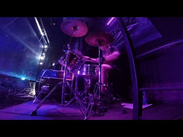Время - Drumcam | гр.Раскол, клуб OZZ г.Челябинск