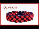 Paracord Bracelet Instructions: Checkerboard Bracelet Design Quick Cut