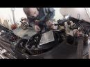 Обслуживание мотоцикла замена воздушного фильтра на HONDA CBR 1100XX