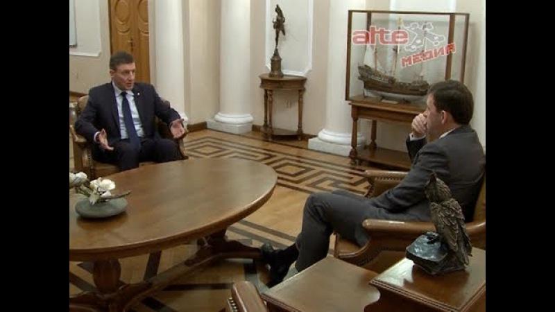 Губернатор и секретарь генсовета Единой России обсудили механизмы поддержки развития промышленности региона