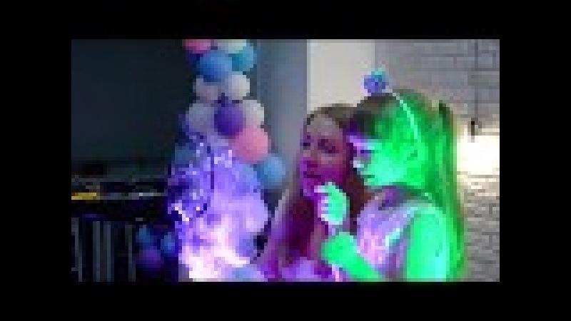 Шоу мыльных пузырей Натальи Вайс на детском празднике