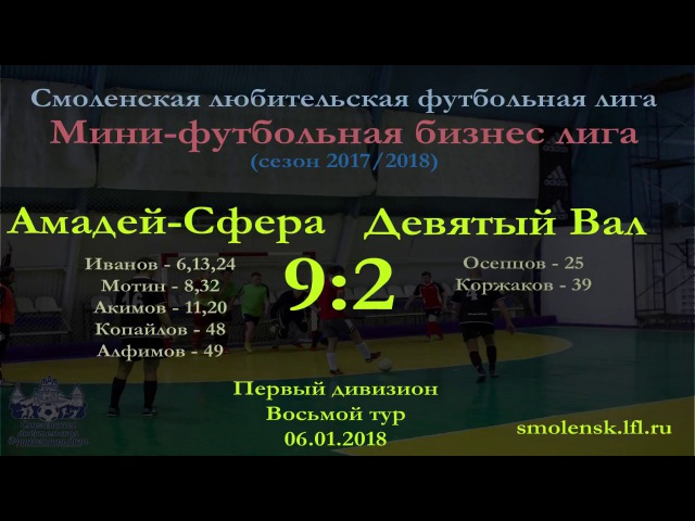 Мини-футбол 2017/18.
