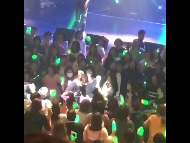 "@poline_henecia on Instagram: ""Moonlight 💚💚💚 2018.03.04 Kim Hyun Joong World Tour Haze in Tokyo, Japan 🇯🇵 💚👽💚 kimhyunjoong 김현중 金賢重 henecia KH.."