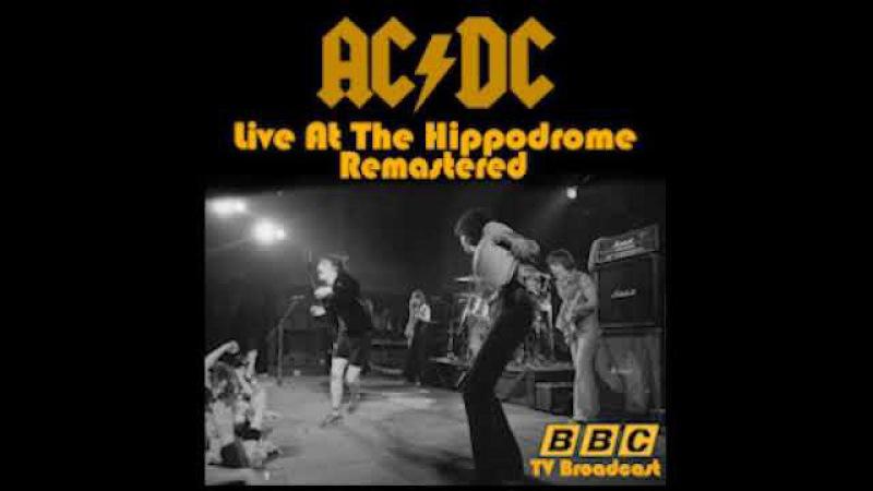 AC DC Live At The Hippodrome 1977 Remastered Full album