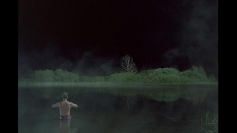 Дух православного озера аткаует деревенского капиталиста (из хф МУСУЛЬМАНИН, 1995 г.)