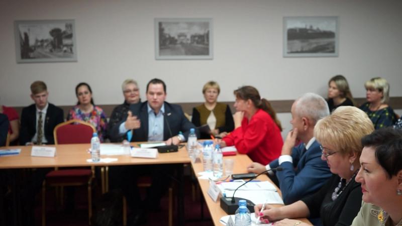 Выступление на конференции на тему «Создание высокопроизводительных рабочих мест – стратегия роста для России и Курской области»