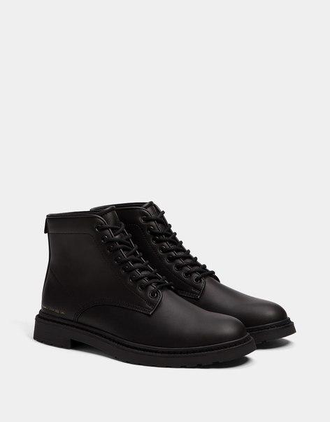 Мужские ботинки со шнуровкой