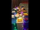 красивый стол новогодний